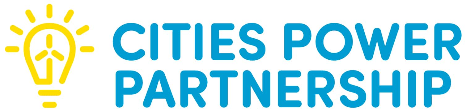 Cities power partnership logo