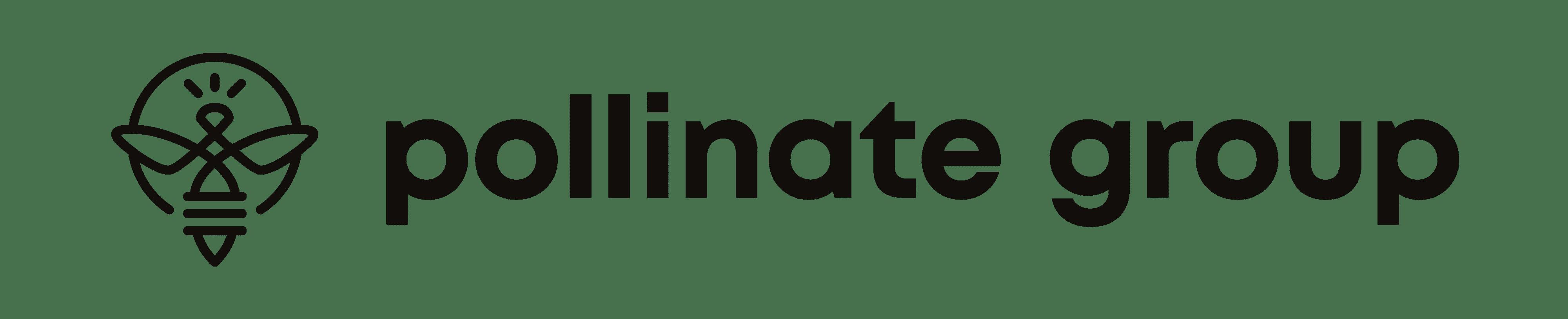 Copy of Pollinate Group Logo Black Primary